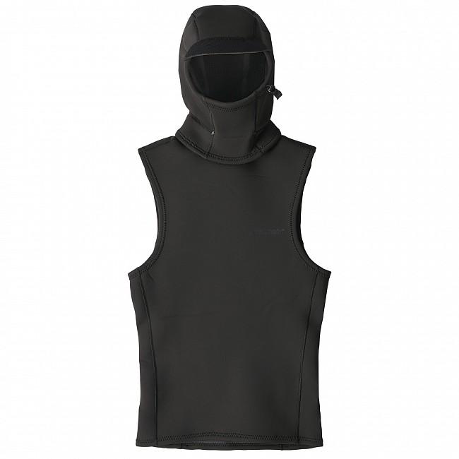 Patagonia Water Heater Beanie: Patagonia Yulex Water Heater Hooded Vest