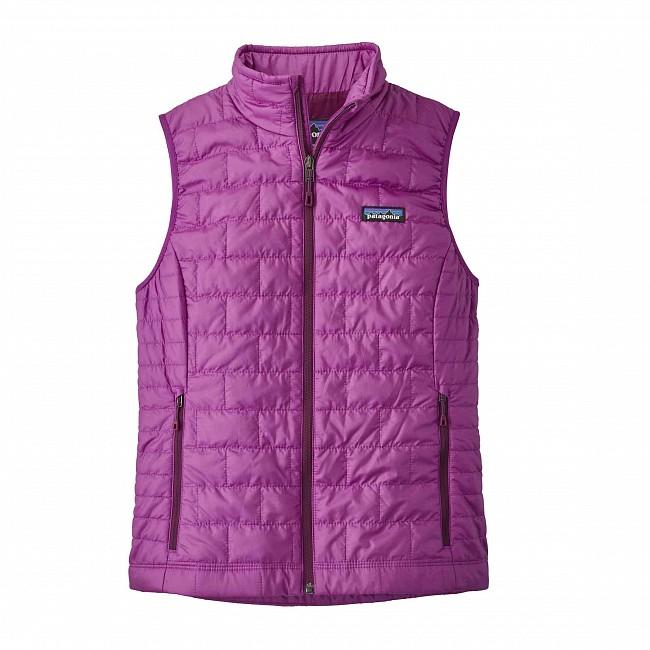 c9bead6c4d89 Patagonia Women s Nano Puff Vest - Ikat Purple - Cleanline Surf