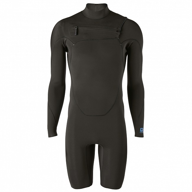 8226fecc86 Patagonia R1 Lite Yulex 2mm Long Sleeve Chest Zip Spring Wetsuit -  Cleanline Surf