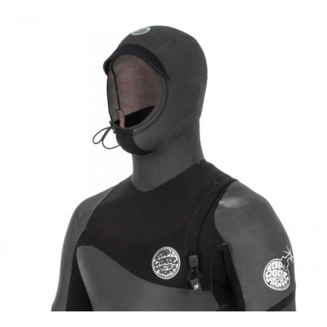 aff93a18fd Rip Curl Flash Bomb Heat Seeker 6/4 Hooded Zip Free Wetsuit