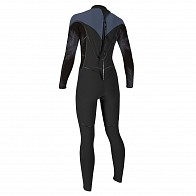 O'Neill Women's Psycho One 4/3 Back Zip Wetsuit - 2019