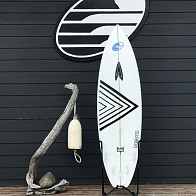 Roberts Black Punt 6'0 x 19 x 2 3/8 Used Surfboard
