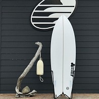 Channel Islands Fish 5'10 x 21 x 2 7/16 Used Surfboard