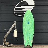 FCD Fish 5'10 x 21 1/8 x 2 9/16 Used Surfboard