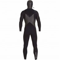 Billabong Furnace Carbon X 5/4 Hooded Chest Zip Wetsuit