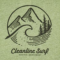 Cleanline Pacific Northwest T-Shirt - Vintage Pine