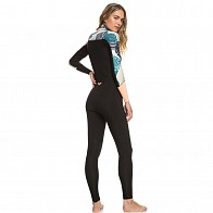Roxy Women's Pop Surf 3/2 Chest Zip Wetsuit