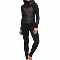 Roxy Women's Syncro Plus 5/4/3 Hooded Chest Zip Wetsuit