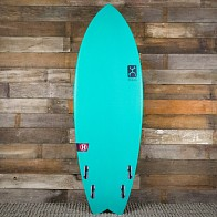 Firewire Seaside Helium 5'6 x 21 1/4 x 2 1/2 Surfboard - Aqua