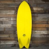 Gary Hanel C-Fish 5'10 x 21 x 2 1/2 Surfboard - Mustard