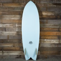 Gary Hanel C-Fish 6'2 x 21 3/4 x 2 3/4 Surfboard - Powder Blue