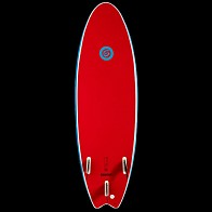 Gnaraloo Flounder Pounder Surfboard - Red