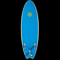 Gnaraloo Flounder Pounder Surfboard - Yellow