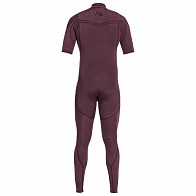 Quiksilver Highline Limited 2mm Short Sleeve Chest Zip Wetsuit