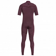 Quiksilver Highline Limited 2mm Short Sleeve Chest Zip Wetsuit - 2019