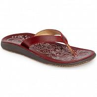 Olukai Women's Paniolo Sandals - Ohio Red