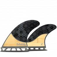 378ac1efda5e Futures Fins Jordy Smith HC Medium Tri Fin Set - Black/Orange ...