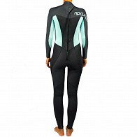 Rip Curl Women's Omega 3/2 Back Zip Wetsuit - Blue