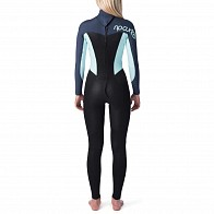 Rip Curl Women's Omega 3/2 Back Zip Wetsuit