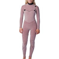 Rip Curl Women's Flashbomb 4/3 Chest Zip Wetsuit