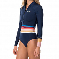 Rip Curl Women's G-Bomb 1mm Long Sleeve Front Zip Spring Wetsuit