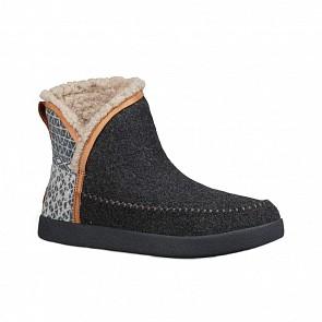 Sanuk Women's Nice Bootah Ojai Boots - Charcoal Grey