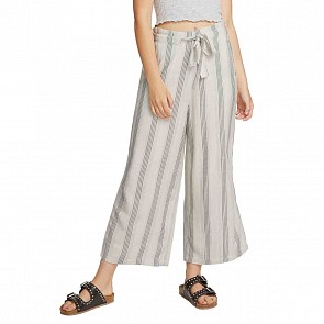 Volcom Women's Winding Roads Pants - White Combo