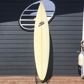 M10 Gun 7'6 x 18 5/8 x 2 5/8 Used Surfboard - Top