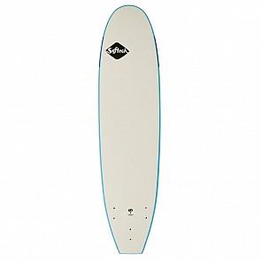 Softech Handshaped 7'0 Soft Surfboard - Blue