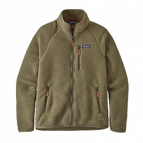 Patagonia Retro Pile Fleece Jacket - Sage Khaki