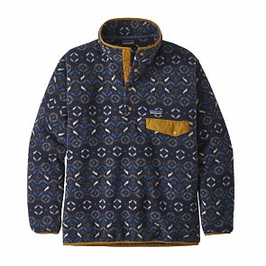 Patagonia Synchilla Snap-T Fleece Pullover - Tundra Cluster/Navy