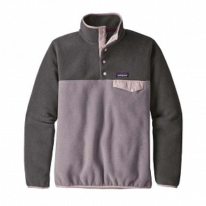 Patagonia Women's Lightweight Synchilla Snap-T Fleece Pullover - Smokey Violet