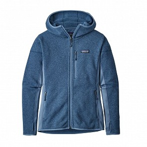 Patagonia Women's Perfect Better Sweater Fleece Hoody - Woolly Blue
