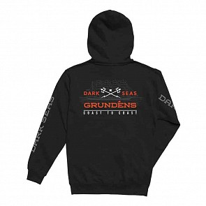 Dark Seas Surface Waves Hoody - Black