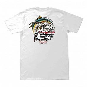 Dark Seas Yellowfin T-Shirt - White