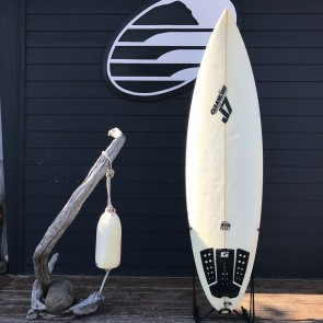 J7 Surfboards 6'4 x 19 12 x 2 58 Used Surfboard - Top