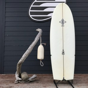 """Infinity Surfboards Tombstone V2 5'6 x 21 1/2"""" x 2 5/8"""" Used Surfboard - Top"""