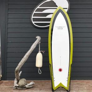 Hynson Black Knight  6'2 x 21 1/8 x 2 1/2 Used Surfboard