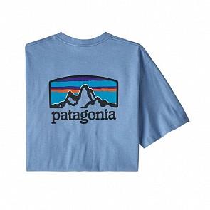 Patagonia Fitz Roy Horizons Responsibili-T Shirt - Wilder Blue