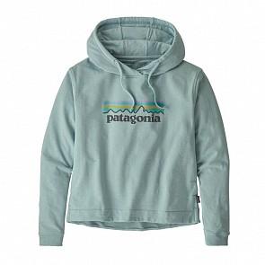 Patagonia Women's Pastel P-6 Logo Uprisal Hoody - Big Sky Blue