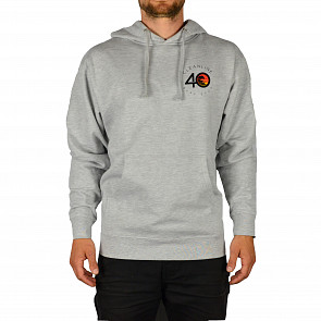Cleanline #40 Hoodie - Heather Grey - front