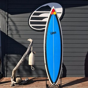 Channel Islands Black Beauty 6'6 x 19 1/2 x 2 1/2 - Used Surfboard  - Deck