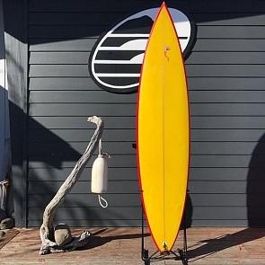 Wayne Lynch Semi Gun 7'2 x 18 1/2 x 2 3/8 Used Surfboard - Top