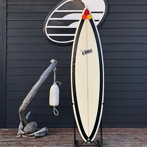 Channel Islands Black Beauty 6'3 x 18 3/4 x 2 1/2 - Used Surfboard - Deck