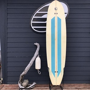 D & S 7'10 x 21 1/4 x 2 1/2 Used Surfboard