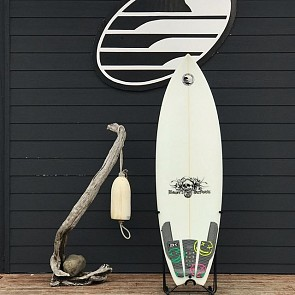 Bauer Fish 5'7 x 19 3/8 x 2 5/16 Used Surfboard - Deck