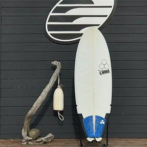Channel Islands Average Joe 5'5 x 21 3/8 x 2 1/2 Used Surfboard - Deck