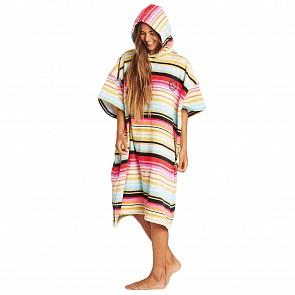 Billabong Women's Hoodie Changing Towel - Serape