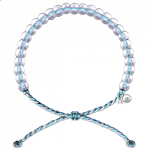 4Ocean Dolphin & Porpoise Bracelet - Light Blue/White