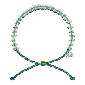 4Ocean Earth Day Bracelet - Green/Blue